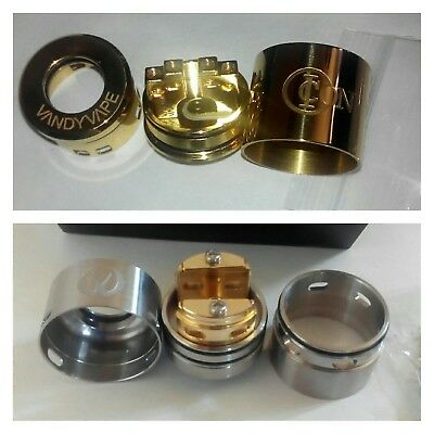lot de 2 dripper single/dual coil VANDYVAPE-GOVAD rda+ ICON rda+10 alien clapton