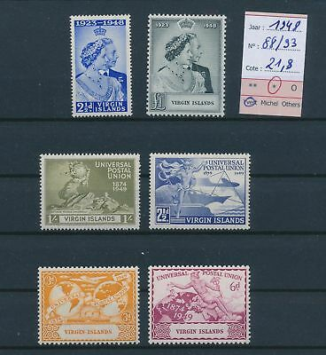 LH26466 British Virgin Islands 1948 U.P.U anniversary MH cv 21,8 EUR