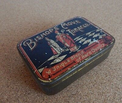 Vintage Bishops Move tobacco tin Cohen & Weenen & Co Ltd 8 x5x3cm