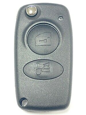 Replacement 2 button flip key case for Alfa Romeo 147 156 166 Spider GT remote