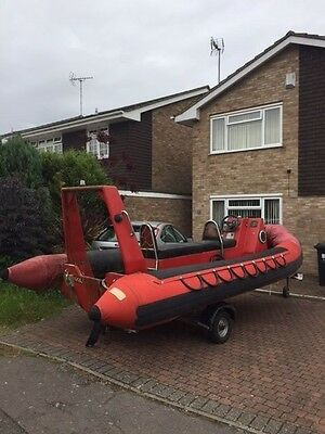 Rib inflatable Chinook 5.7m with trailer project