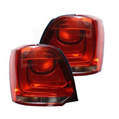 Volkswagen Polo Mk5 10/2009-> Rear Tail Lights 1 Pair O/s & N/s