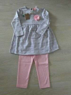 Bnwt Joules Baby Girls Two-Piece Set 9-12 Months