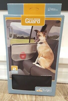 Kurgo Car Door Cover Car Protection from Dogs, Black