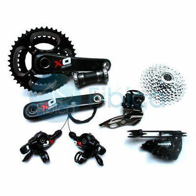 New SRAM X0 X.0 Carbon Hydraulic Brake Bike 2x10 speeds Group set Groupset 9pcs