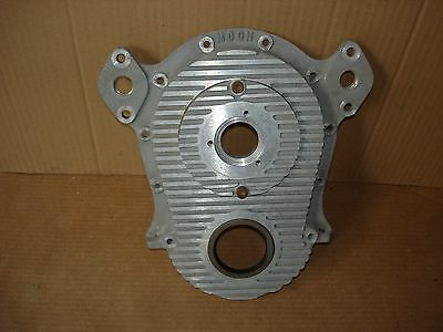 Vintage Big Block Chevy Fuel Injected Moon Timing Cover Enderle Crower Engler