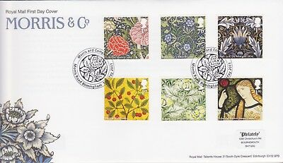Gb Stamps First Day Cover 2011 Morris & Co Morris Road Rare Pmk Collection