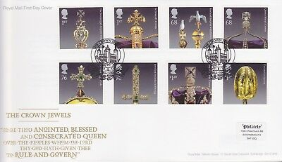 Gb Stamps First Day Cover 2011 Crown Jewels Tower Hill Rare Pmk Collection