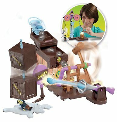 NEW Scooby Doo Trap Time Fred's Mega Trap Building Kit