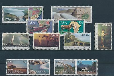 LH24346 South Africa nature fine lot MNH