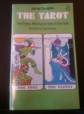 The Tarot rare 1970,s Paperback Book by ALFRED DOUGLAS