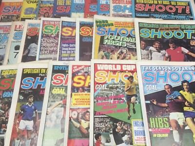 36 Issues Of Shoot! Magazine - All 1970's - Years 1970, 1973, 1976, 1978, 1979