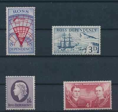 LH24473 Ross Dependency nice lot of good stamps MNH