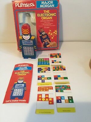 Playskool Major Morgan boxed and working 1980s toy -