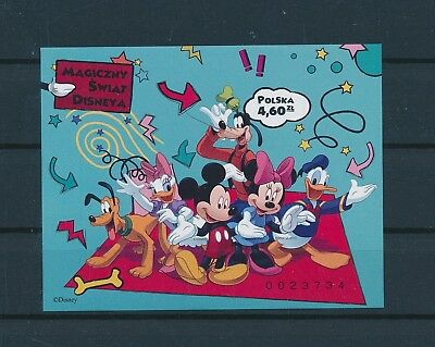 LH24578 Poland Mickey Mouse & friends disney good sheet MNH
