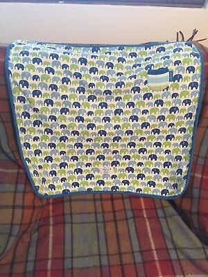 Toby Tiger Organic Cotton Baby Blanket