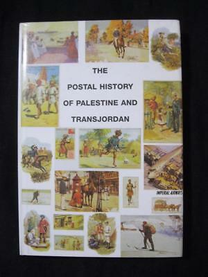 THE POSTAL HISTORY OF PALESTINE AND TRANSJORDAN by EDWARD B PROUD