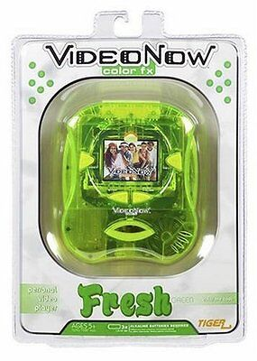 New Sealed Videonow FX Player Fresh Green Hasbro Tiger Personal Video Player