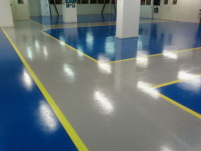 2 Pack Epoxy Resin Garage & Industrial Floor Paint - Various Sizes & Colours
