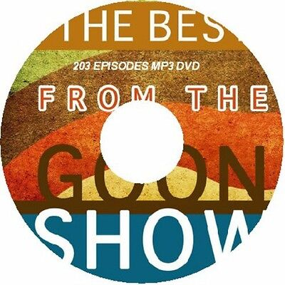 The Ultimate Goon Show  203 Episodes Mp3 Dvd