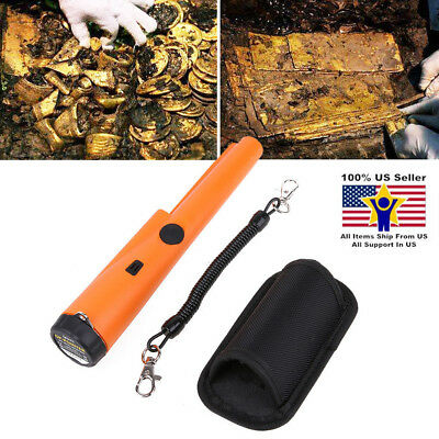 Metal Detector 360° Pro Pointer AT Pinpointer Waterproof ProPointer & Holster US