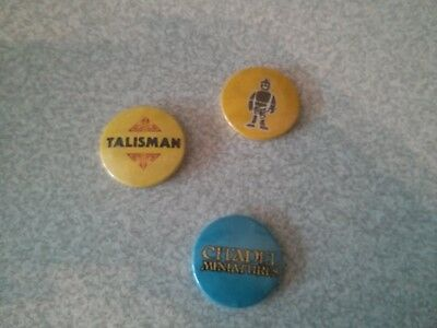 Games Workshop Talisman Citadel Miniatures Pin Badge
