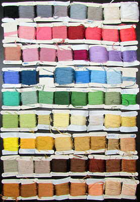 72x Needlepoint/Embroidery THREAD Embroidery Floss on Bobbins/Mixed Lot-PN115
