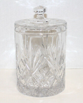 Crystal Covered Ice Bucket; Marquis Pattern?, Unmarked