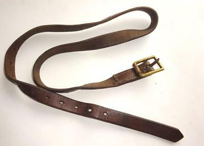 Victorian / WW1 Slade Wallace / P03 Leather Greatcoat Strap