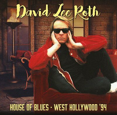 David Lee Roth - House of Blues: West Hollywood '94 (2017)  2CD  NEW  SPEEDYPOST