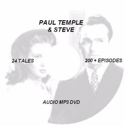 Paul Temple & Steve Collection Mp3 Dvd