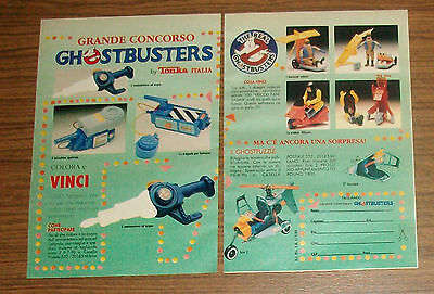 Seltene Werbung Tonka THE REAL GHOSTBUSTERS Ecto-2 Air Sickness Italien 1990