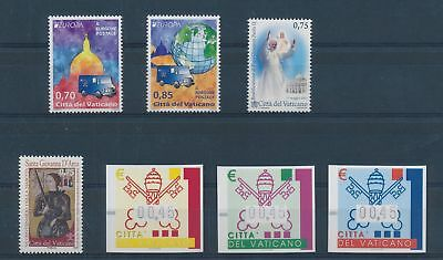 LH25019 Vatican nice lot of good stamps MNH