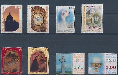 LH25021 Vatican nice lot of good stamps MNH