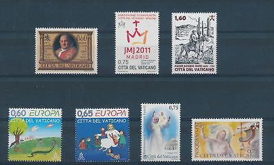 LH25024 Vatican nice lot of good stamps MNH