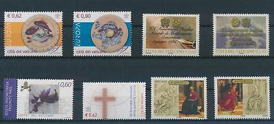 LH25050 Vatican nice lot of good stamps MNH