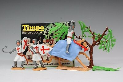 TIMPO HISTORIC COLLECTION PICTURE BOX CRUSADERS plus TREE 715 - BOXED...!!
