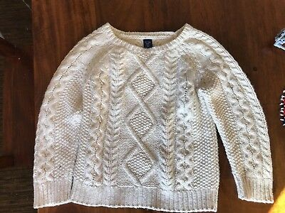 Baby Gap Boys Cable Knit Sweater Size 3 3t  fall/winter holidays