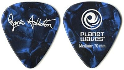 Janes Addiciton Dave Navarro authentic 2011 tour Planet Waves blue Guitar Pick