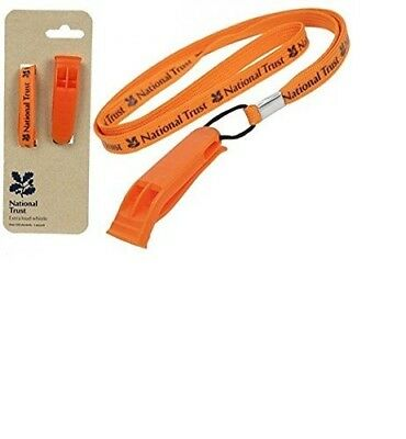 Extra Loud Whistle with Lanyard - Original Licence Product by National Trust.