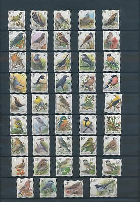LH25835 Belgium Buzin animals fauna flora birds fine lot MNH