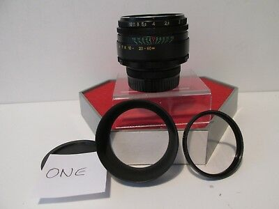 Helios-44-2  2/58 Fully Manual Prime Lens M42 Screw Fitting Good Condition (One)