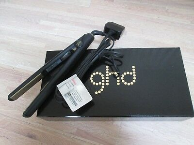 Used Ghd Gold Straighteners Complete With Box/tissue & Info Booklet