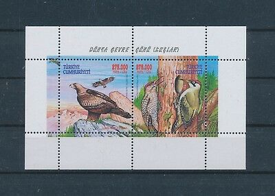 LH25858 Turkey animals fauna flora birds good sheet MNH