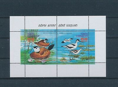 LH25859 Turkey ducks animals fauna flora birds good sheet MNH