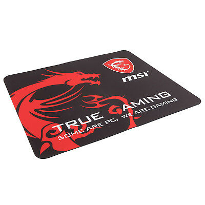 Mauspad MSI Gaming Mouse Pad - Edition - Spielen - Shooter - flach - gummiert