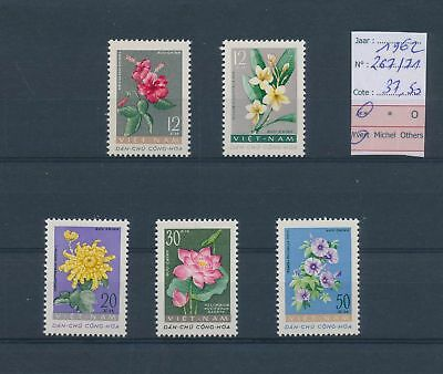 LH26373 Vietnam 1962 plants nature fine lot MNH cv 37,5 EUR