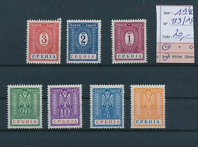 LH26381 Serbia 1942 occupation stamps fine lot MNH cv 20 EUR