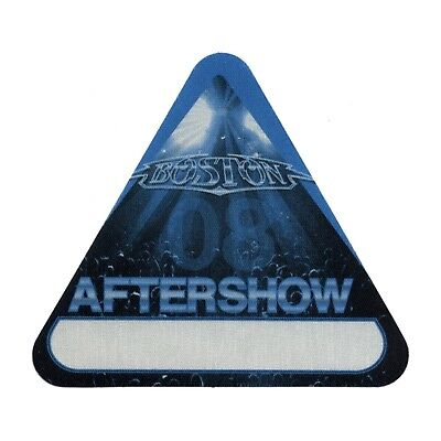 Boston authentic Aftershow 2008 tour Backstage Pass