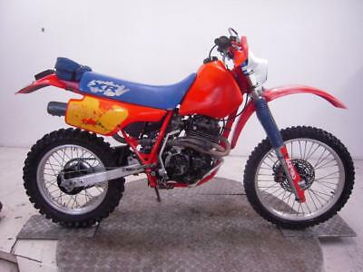 1985 Honda XR350R Enduro Unregistered US Import Barn Find Classic Restoration